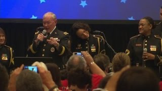 "Gen. Martin Dempsey sings ""Keep Your Head Up"" - CNN"