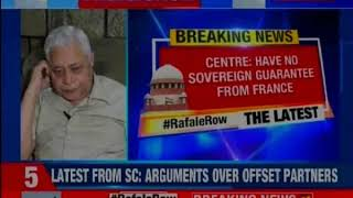 SC on Rafale deal: Supreme Court concludes Rafale hearing, reserves order - NEWSXLIVE
