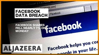 Facebook loses $40bn in share value over user data scandal | Al Jazeera English - ALJAZEERAENGLISH