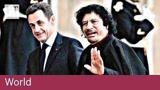 Sarkozy in custody over election funding - FINANCIALTIMESVIDEOS