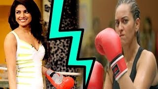Priyanka Chopra or Sonakshi Sinha who's the better boxer ?