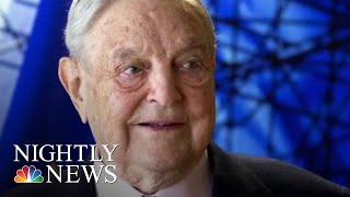 George Soros' N.Y. Home Targeted With Explosive Device, Authorities Say | NBC Nightly News - NBCNEWS