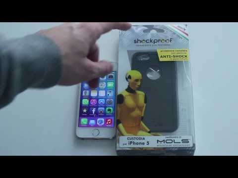 Custodia MOLS anti-shock per iPhone 5s - Recensione e Test