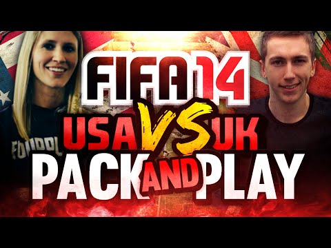 FIFA 14 -USA VS UK - PACK AND PLAY - I AM SO DONE!