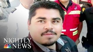 Demands For Justice In Murder Of Mexican Journalist | NBC Nightly News - NBCNEWS