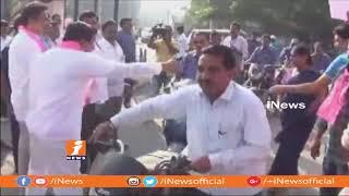 TRS Candidate Jalagam Venkata Rao Election Campaign At Palwancha | Bhadradri kothagudem | iNews - INEWS