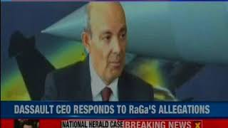 NDA Rafale deal cheaper than UPA: Dassault CEO Eric Trappier - NEWSXLIVE