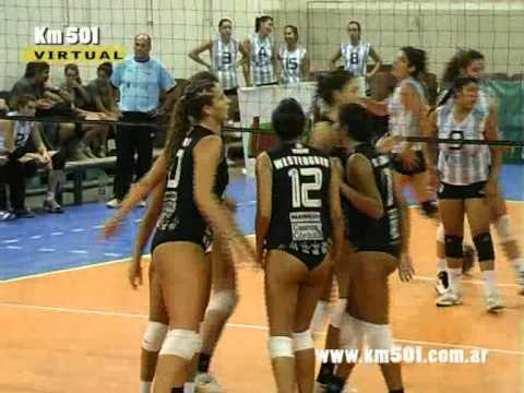 SELECCIÓN MENOR VS BELL VOLEY - 2do set