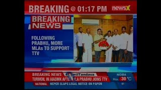 Following MLA Prabhu, more MLAs to support TTV; ADMK will switch over shortly - NEWSXLIVE