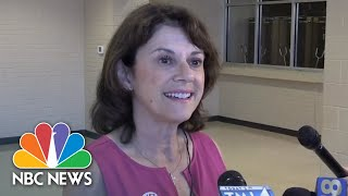 Wisconsin Republican U.S. Senate Hopeful Casts Vote In State Primary | NBC News - NBCNEWS