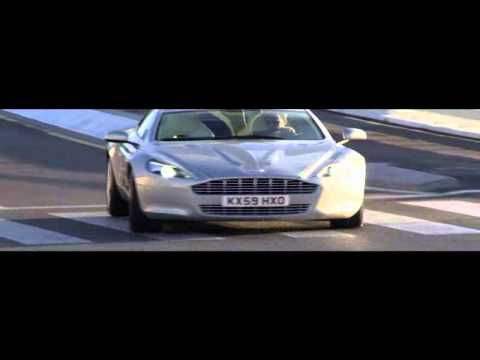 Never seen before Aston martin Rapide (commercial)