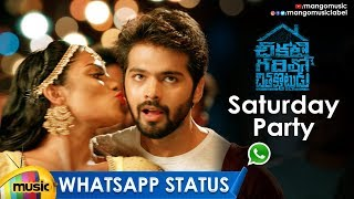 Saturday Party WhatsApp Status | Dhinak Tha Kasak Ro Video Song | Chikati Gadilo Chithakotudu Movie - MANGOMUSIC