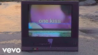 Video Calvin Harris, Dua Lipa - One Kiss (Lyric Video)