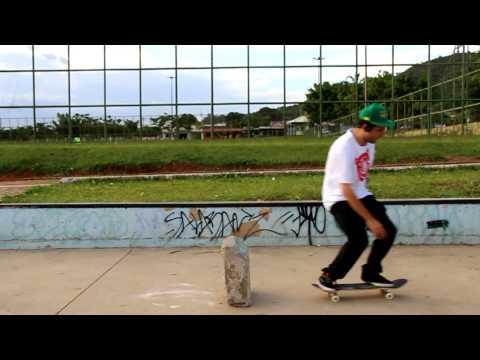 "Inicio Skate - Passe a Base 001 ""Ollie,Flip e Heelflip"""