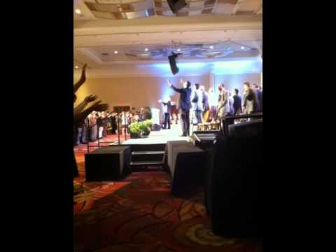 Benny Hinn singing