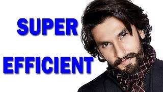 Ranveer Singh efficiently handling his brand deals! | Bollywood News