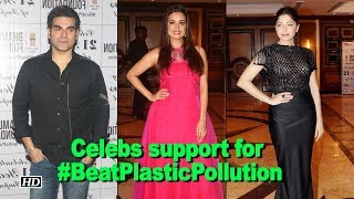 Celebs support for environment | #BeatPlasticPollution - IANSLIVE