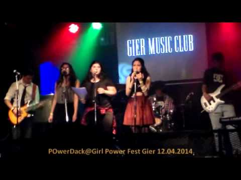 POwerDack@Girl Power Fest Gier 12 04 2014 show