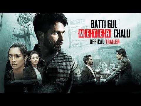 <p><span>Batti Gul Meter Chalu is an upcoming Indian Hindi film directed by Shree Narayan Singh and is produced by Bhushan Kumar, Krishan Kumar, Shree Narayan Singh, Nitin Chandrachud, Kusum Arora and Nishant Pitti. This movie is featuring Shahid Kapoor, Shraddha Kapoor, Divyendu Sharma and Yami Gautam in the lead roles.&nbsp;</span></p>