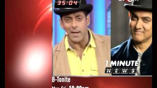Bollywood News in 1 minute 10-12-13 | Salman Khan, Aamir Khan, Rani Mukerji & others