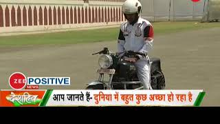 Deshhit: Watch BSF jawans performing stunts on bike - ZEENEWS