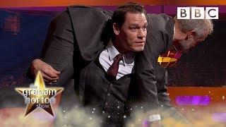 John Cena wants to TAKE DOWN Graham Norton! 💪 - BBC - BBC