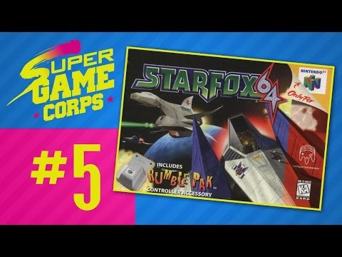 Starfox 64 - Part 5 - Super Game Corps