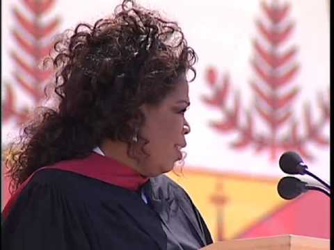 Oprah Winfrey's 2008 Stanford Commencement Address