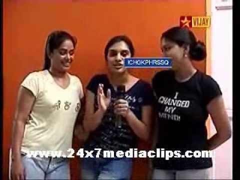 Boys vs Girls Vijay Tv Shows 3-13-2009 Challange Expression Round Part 1