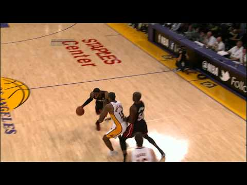 LeBron James Slams it Down -BpfX4JNamXY