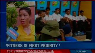 NewsX Exclusive: Confident to bring glory and gold for the nation, says Marry Kom - NEWSXLIVE