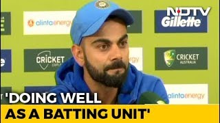 Team In Sync, MS Dhoni Best Suited For No.5 Spot: Virat Kohli - NDTV