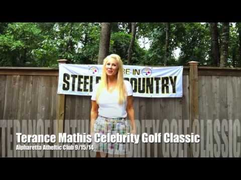 My ALS Ice Bucket Challenge for the Terance Mathis Celebrity Golf Classic