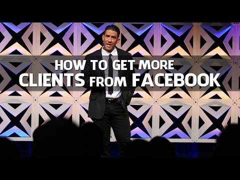 How to get personal training clients from Facebook - Josh Carter