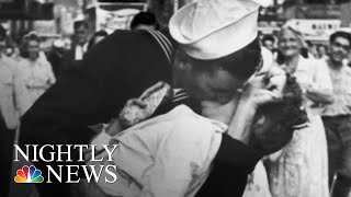 Navy Veteran Identified As 'Kissing Sailor' In WWII Photo Dies At 95 | NBC Nightly News - NBCNEWS