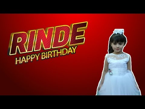 HAPPY BIRTHDAY RINDE PELİSTANK TV