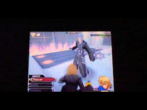 Kingdom Hearts 358/2 days Roxas vs Saix