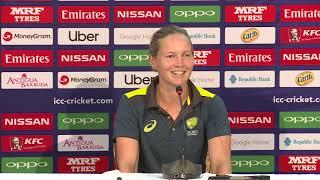 Australia captain Meg Lanning speaks ahead of the ICC WWC T20 semi-finals - CRICKETWORLDMEDIA