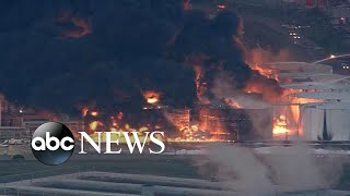 Chemical fire leads to air quality concerns - ABCNEWS