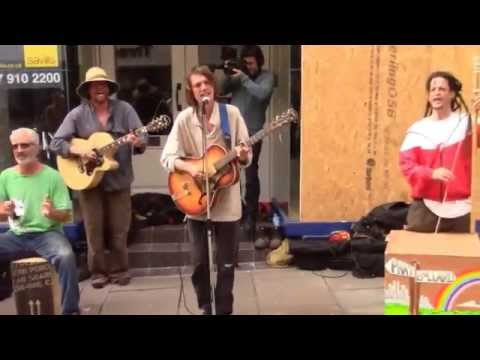 Millionaires - Phat Bollard - Busking in Bath (Best Vid of this)