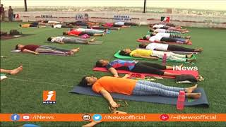 Yoga Awareness Program In Begumpet | Hyderabad | iNews - INEWS