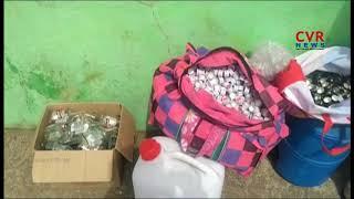 Police Bursts Adulterated Liquor Making Gang at Neradigonda | Adilabad | CVR NEWS - CVRNEWSOFFICIAL
