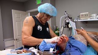 Dr. Jeff's First Surgery in the New Clinic - ANIMALPLANETTV