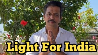 Actor Arjun Sarja Requests People To Participate Light For India - TFPC