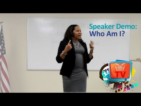 Speaker Demo: Who Am I?