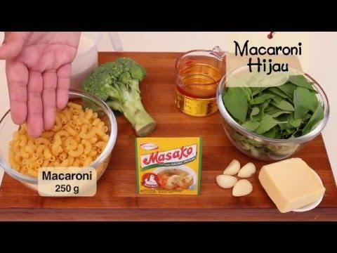 Dapur Umami - Macaroni Hijau