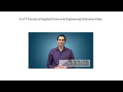 Info for U of T Engineering Applicants: Personal Profile