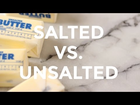 Salted vs Unsalted Butter | Baking Tips