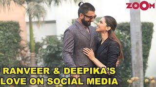 Deepika Padukone & Ranveer Singh's expression of love for each other on social media | #DeepVeer - ZOOMDEKHO