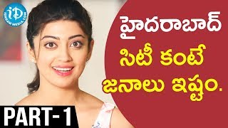 Actress Pranitha Exclusive Interview Part #1 || Talking Movies With iDream - IDREAMMOVIES